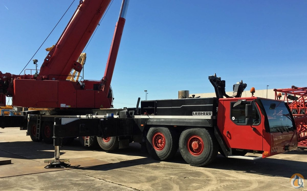 2007 LIEBHERR LTM 1400-7.1 Crane for Sale in Houston Texas on CraneNetwork.com