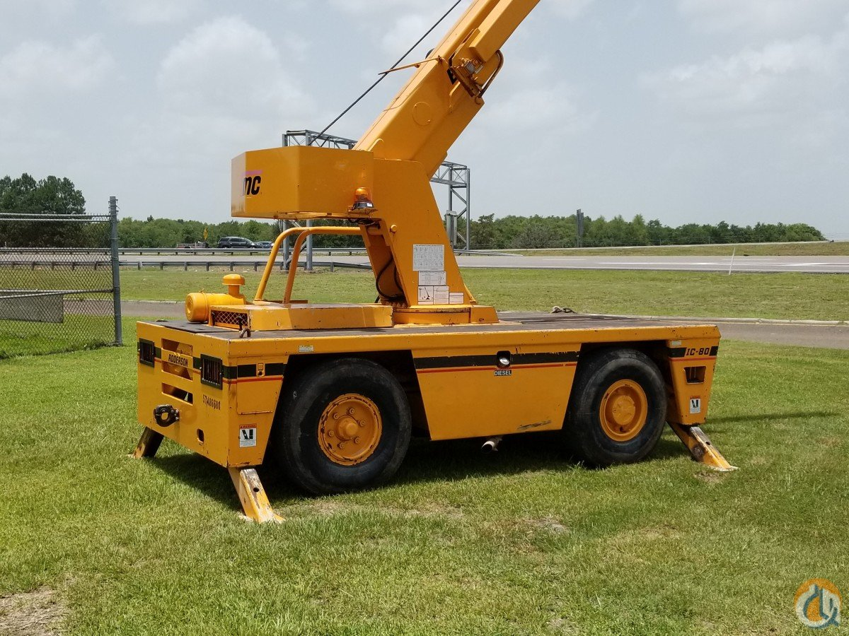 2007 Broderson IC 80-3G Crane for Sale in Orange Texas on