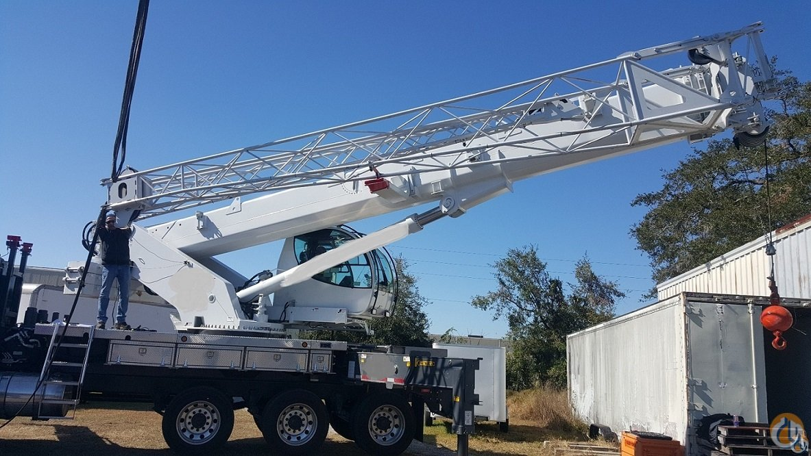 Sold 2015 MANITEX TC700 - 70 TON DELIVERED TO CONTINENTAL U.S. Crane for  on CraneNetwork.com