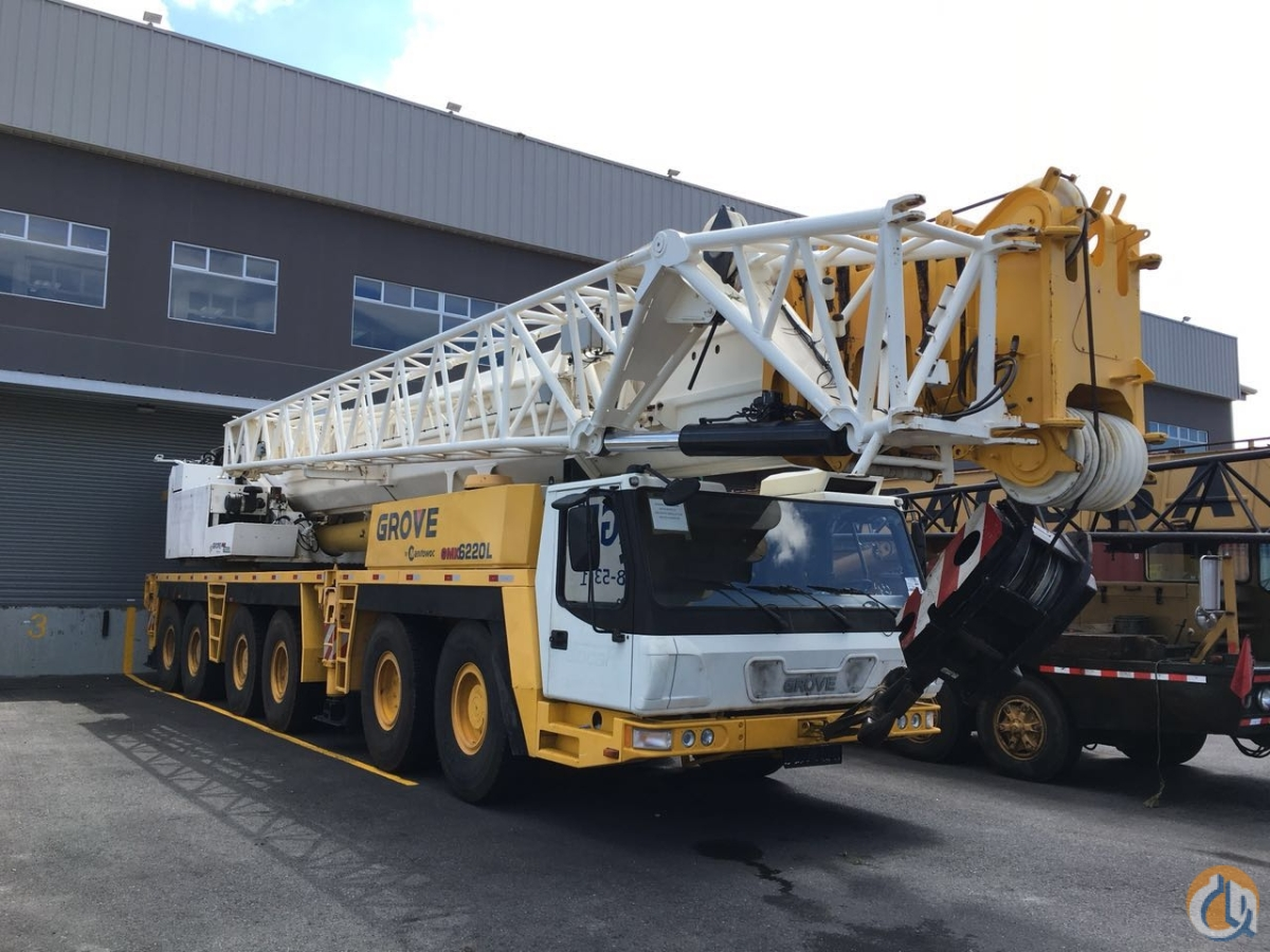 Used Jib Cranes Houston : Sold grove gmk l crane for in houston texas on