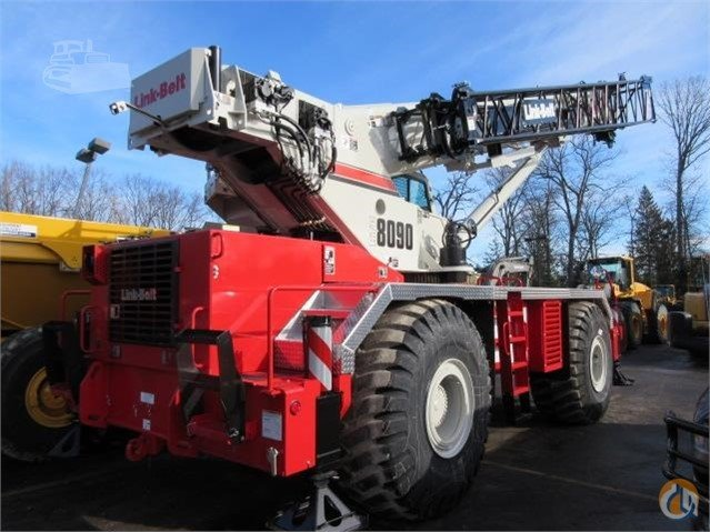2016 Link-Belt RTC 8090 SII LOADED READY TO WORK Crane for Sale in Lyon Charter Township Michigan on CraneNetwork.com