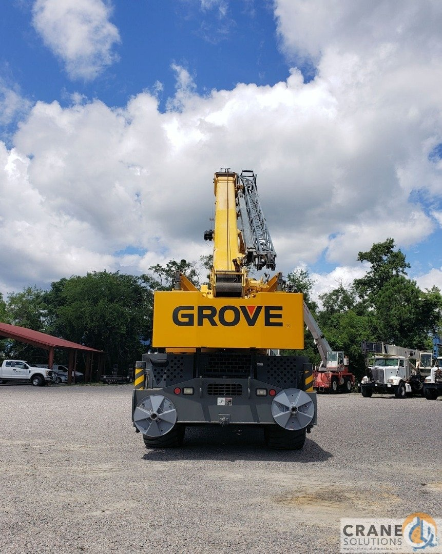 2007 Grove RT880E Crane for Sale in Savannah Georgia on CraneNetwork.com