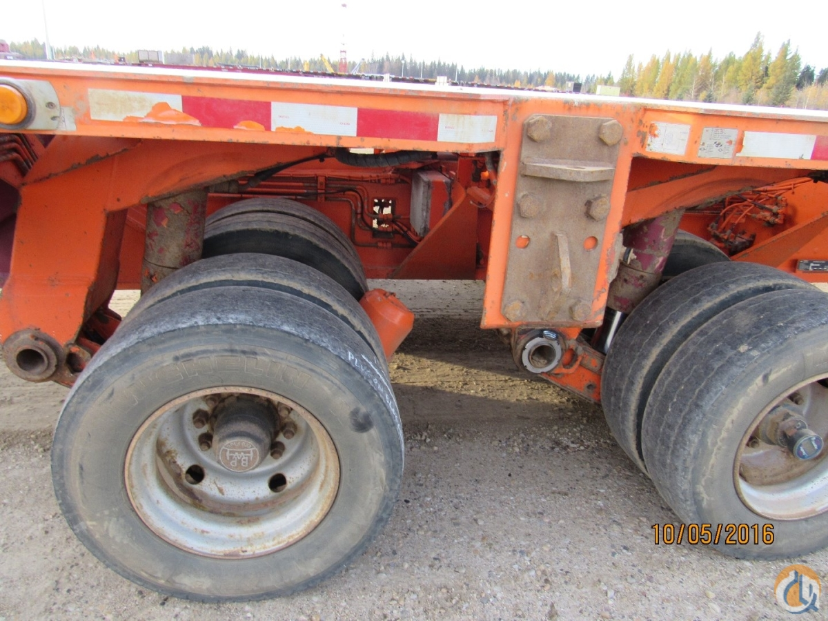 Goldhofer Hydraulic Platform Trailer TrucksTrailers Crane for Sale GOLDHOFER PLATFORM TRAILER 12 LINE  in  Alberta  Canada 216676 CraneNetwork