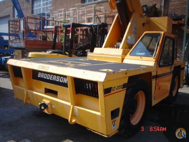 Broderson IC200-3G Carry Deck Industrial Cranes Crane for Sale 2012 BRODERSON IC200-3G in Bridgeview  Illinois  United States 219012 CraneNetwork