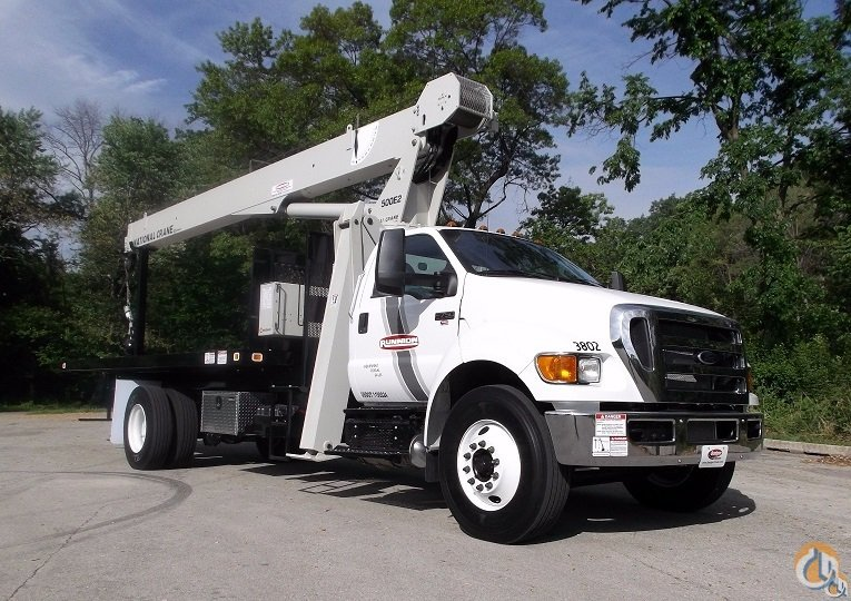 National Crane 571E2 on 2015 F750 XL Crane for Sale in Lyons Illinois on CraneNetworkcom