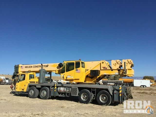 2011 Grove TMS700E 8x4 Hydraulic Truck Crane Crane for Sale in Price Utah on CraneNetwork.com