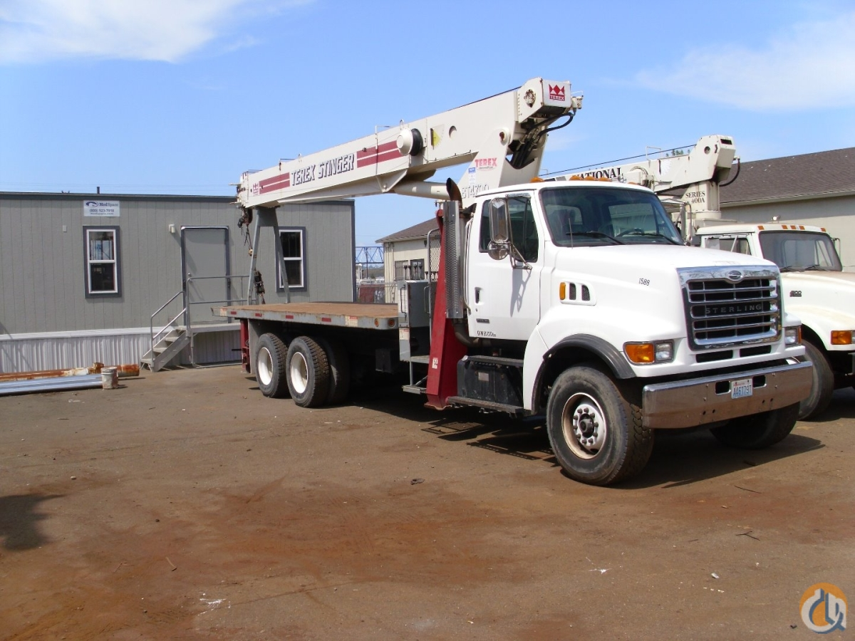 2002 Terex BT4792 Boom Truck Crane for Sale in Mount Vernon Washington on CraneNetwork.com