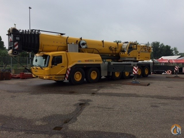 2013 GMK 6350L Crane for Sale in Houston Texas on CraneNetwork.com