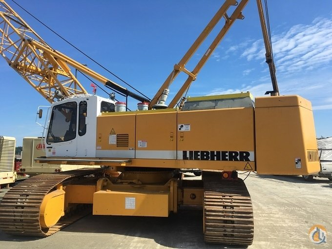 1998 Liebherr 853 HD Duty Cycle Crane for Sale on CraneNetworkcom