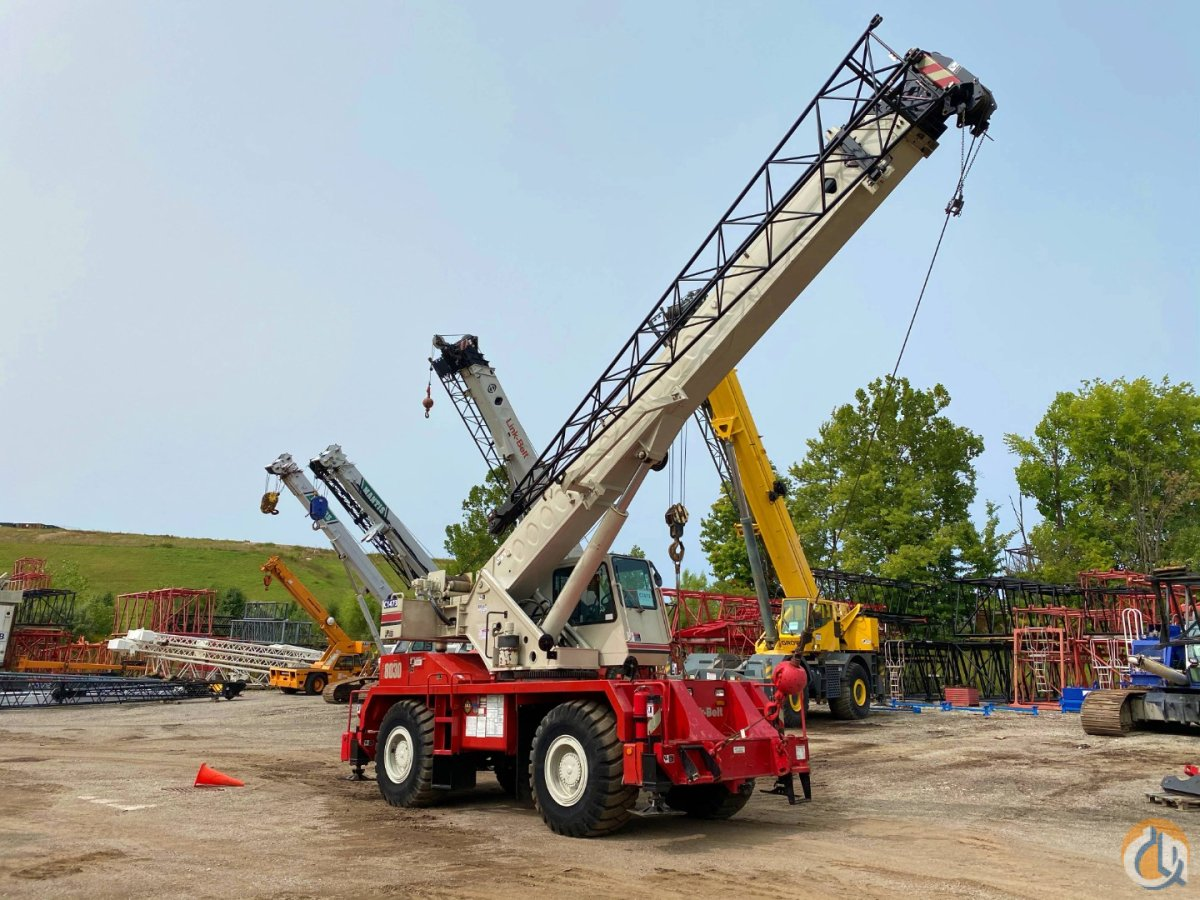 2010 Link-belt RTC8030 30 ton rough terrain crane Crane for Sale in Solon Ohio on CraneNetwork.com