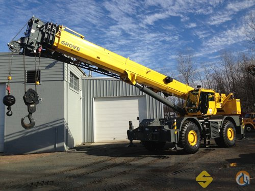 2012 Grove RT880E Crane for Sale in Manchester Connecticut on CraneNetworkcom