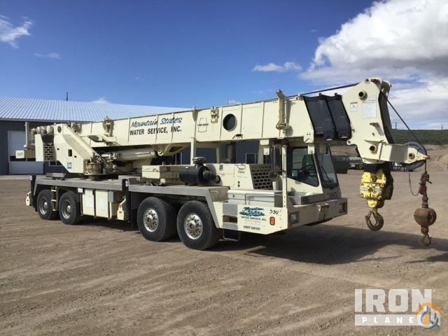 1999 Grove TMS870 Hydraulic Truck Crane Crane for Sale in Big Piney Wyoming on CraneNetwork.com