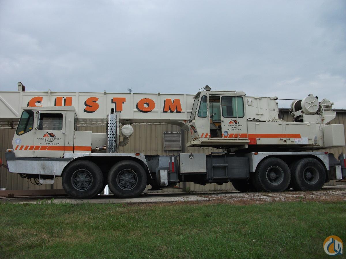 Sold grove tms475 truck crane for sale crane for in for Crane grove