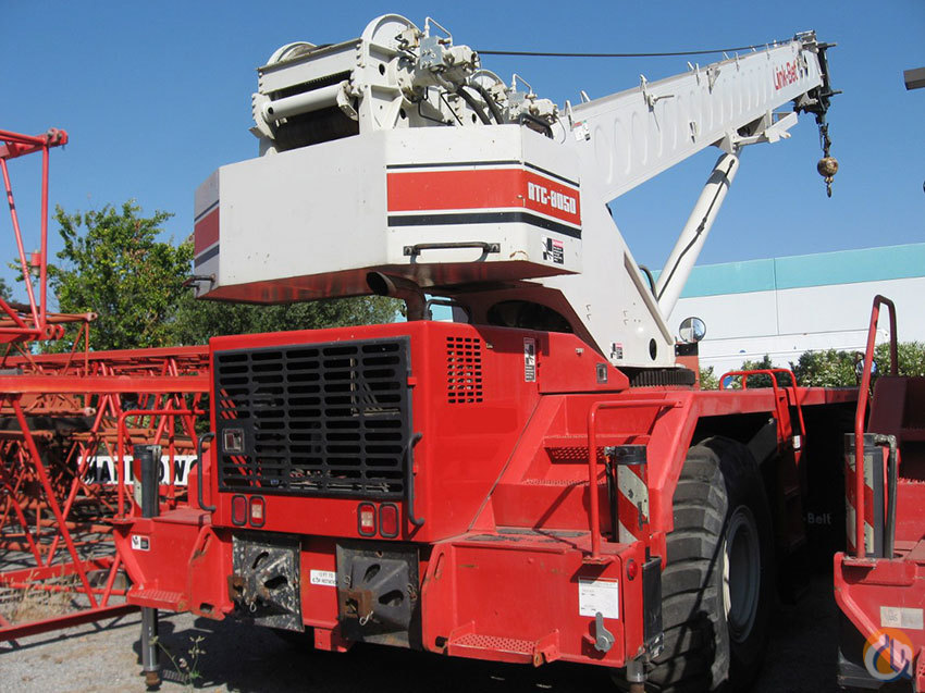 Link Belt RTC8050 II For Sale Crane for Sale in Valley Springs California on CraneNetworkcom