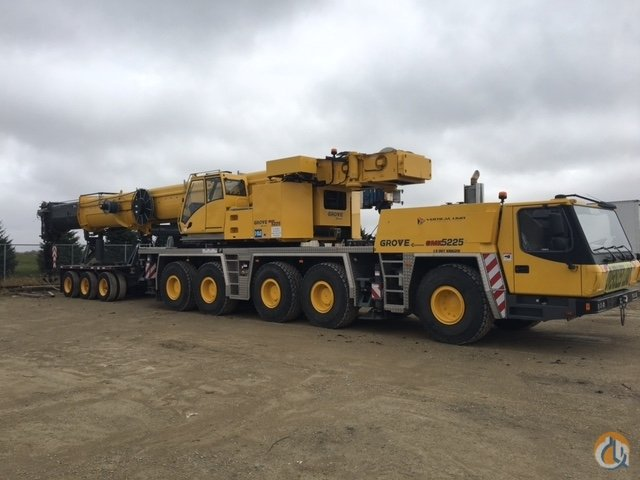 Sold Grove GMK5225 Crane for  on CraneNetworkcom