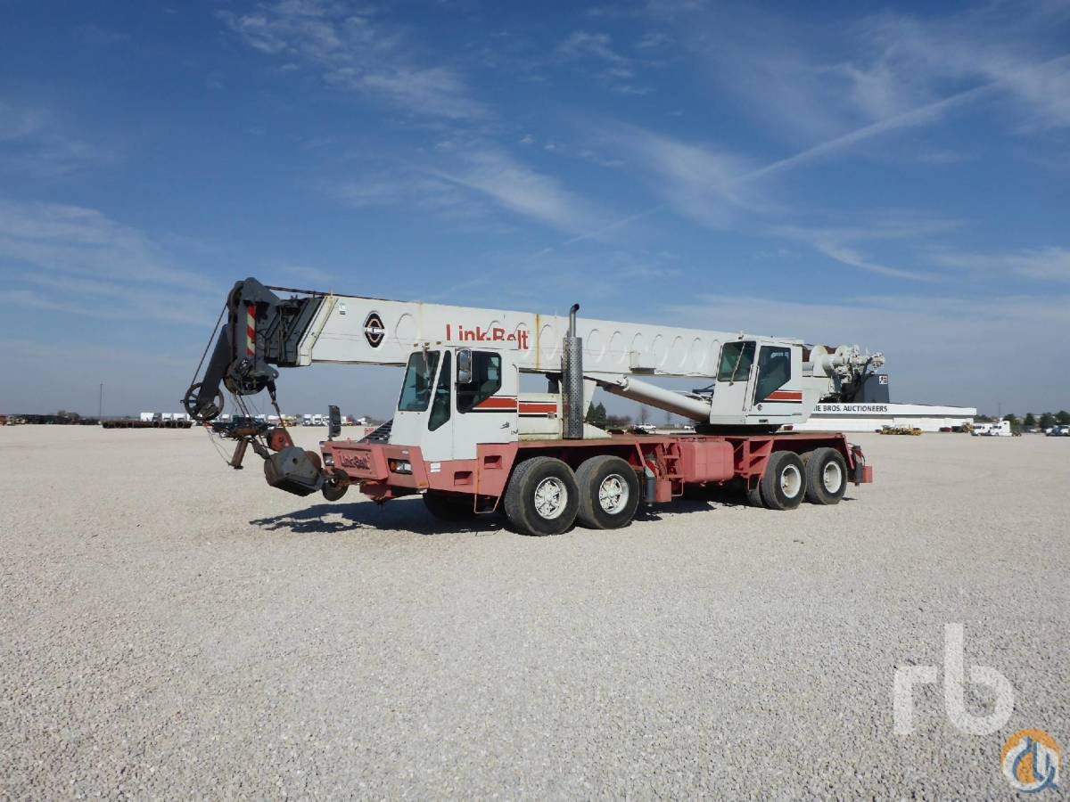 Sold LINK-BELT HTC-860 Crane for  in Chicago Illinois on CraneNetworkcom