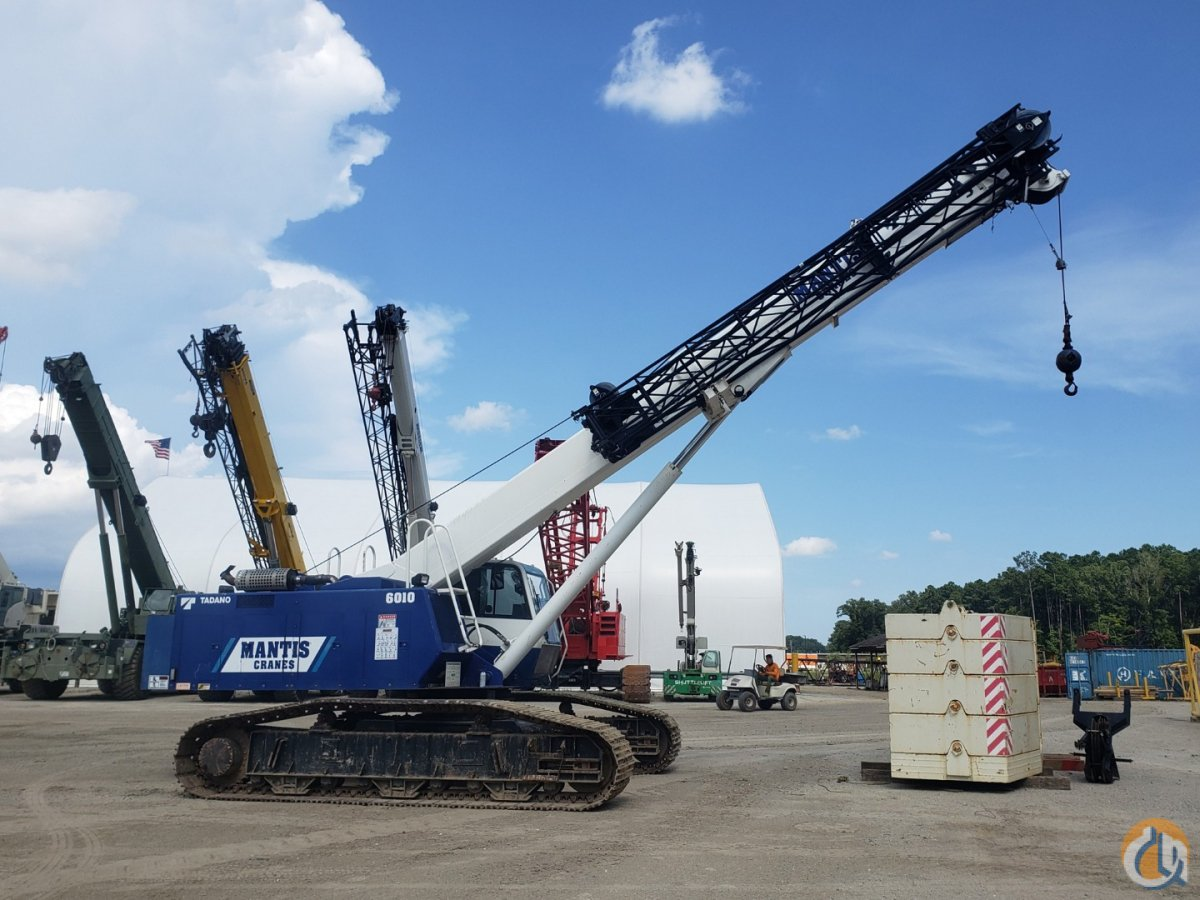 2014 MANTIS 6010 Crane for Sale or Rent in Savannah Georgia on CraneNetwork.com