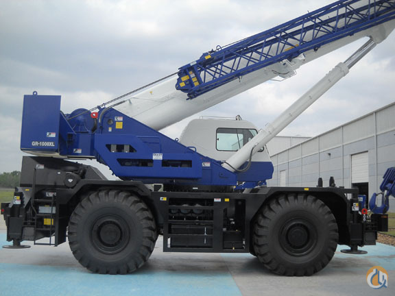 2016 Tadano GR-1000XL-2 Rough Terrain Available now Crane for Sale in Houston Texas on CraneNetwork.com