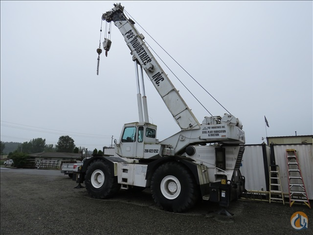 1985 GROVE RT740 Crane for Sale in Puyallup Washington on CraneNetworkcom