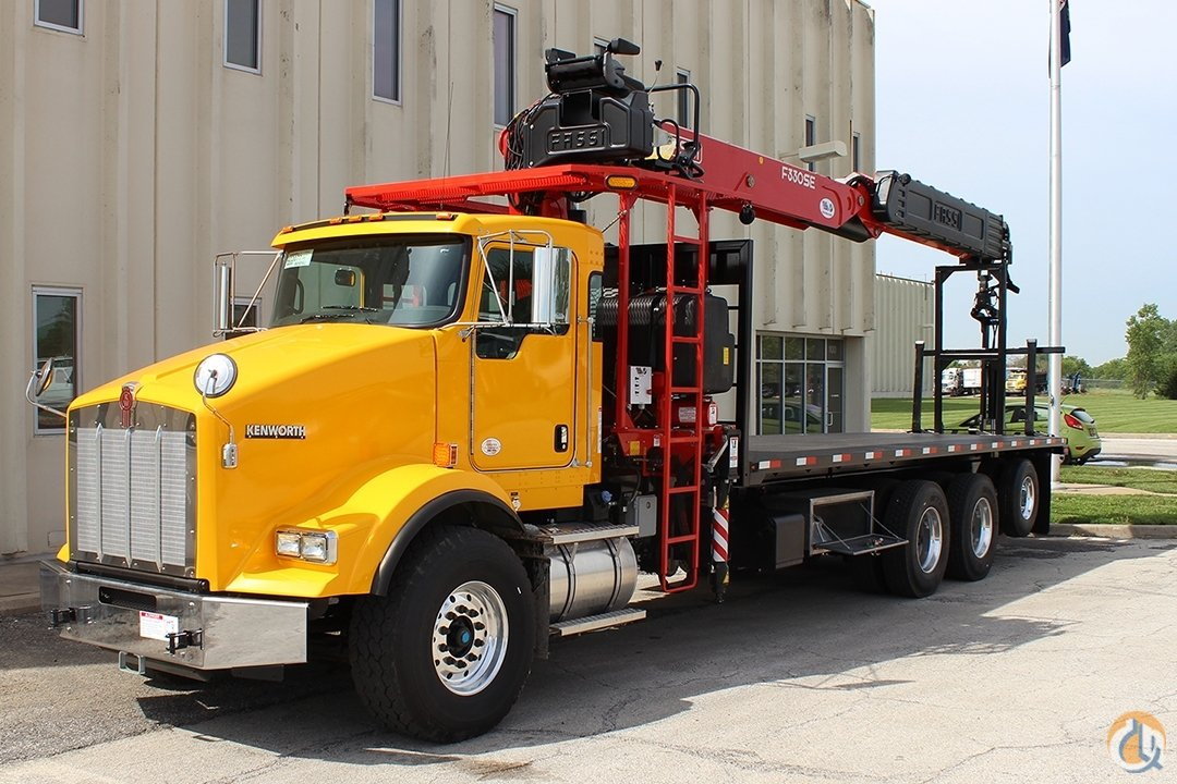 New Fassi F330SE.24 wallboard crane with top seat and RRC unmounted Crane for Sale in Olathe Kansas on CraneNetwork.com