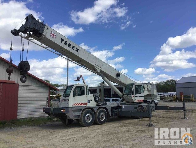 2004 Terex T775 75 Ton 8x6x4 Hydraulic Truck Crane Crane for Sale in Carrier Mills Illinois on CraneNetwork.com