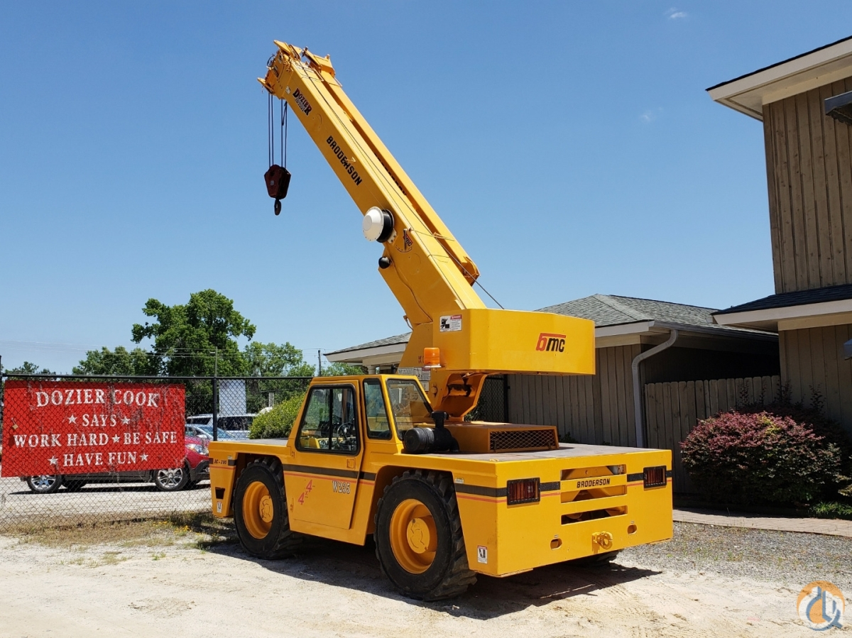 2005 BRODERSON IC-200-2F Crane for Sale or Rent in Fairfield Alabama on CraneNetwork.com