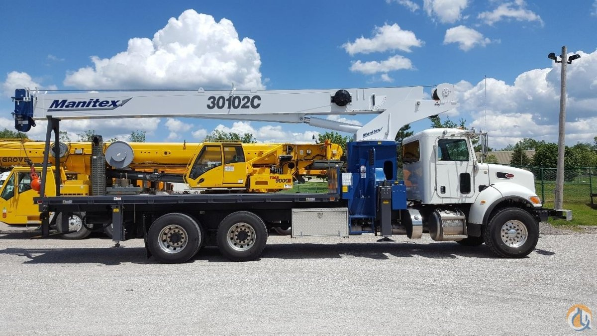 2017 MANITEX 30102C Crane for Sale in Solon Ohio on CraneNetworkcom