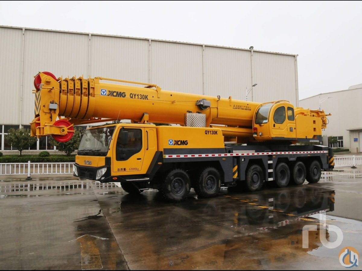 Sold UNUSED 2013 XCMG QY130K Hydraulic Truck Crane Crane for  in Dubai Dubai on CraneNetworkcom