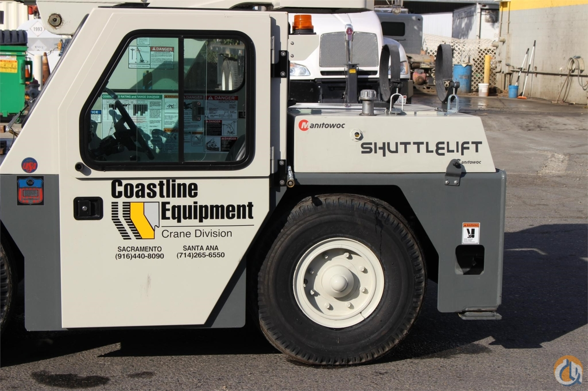 2015 SHUTTLELIFT CD3339 Crane for Sale or Rent in Sacramento California on CraneNetworkcom