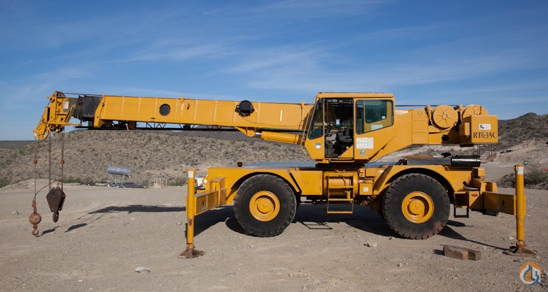 1993 GROVE RT-635C 35 TON ROUGH TERRAIN CRANE Crane for Sale in Elizabeth New Jersey on CraneNetworkcom