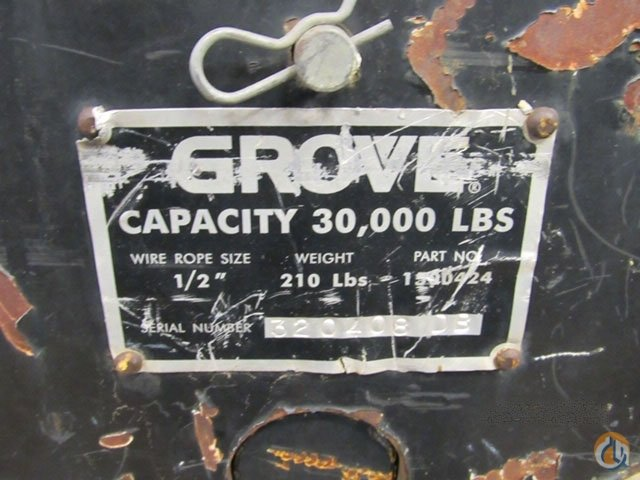 GROVE YB5515 Crane for Sale on CraneNetwork.com