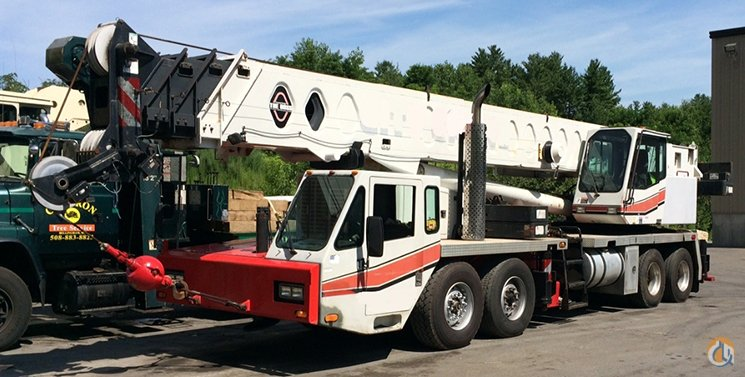 1997 Linkbelt HTC 8670 Crane for Sale in Billerica Massachusetts on CraneNetwork.com