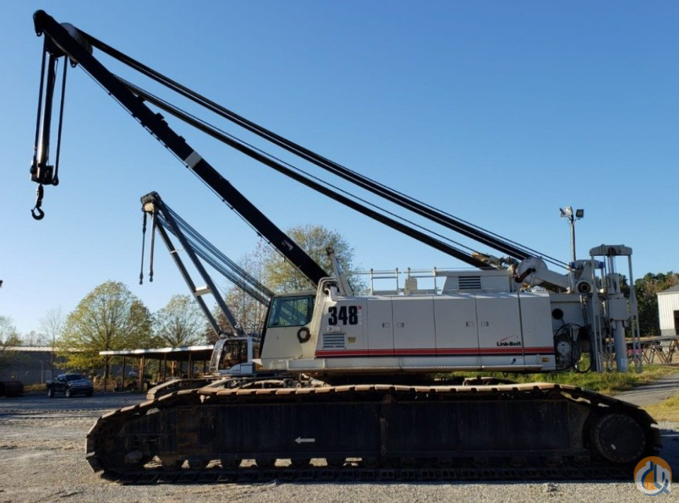 2016 LINK-BELT 348H-5 Crane for Sale on CraneNetwork.com