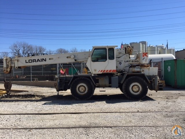 1987 Lorain LRT 230 Crane for Sale in Indianapolis Indiana on CraneNetwork.com