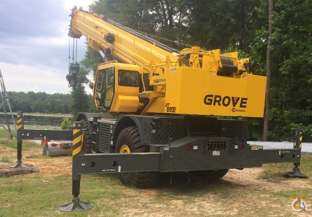 2013 GROVE RT890E Crane for Sale in Orlando Florida on CraneNetwork.com