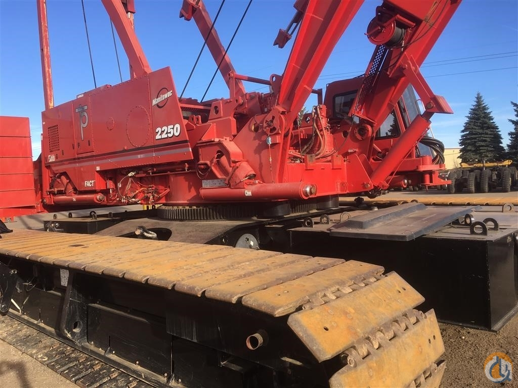 2008 MANITOWOC 2250 Crane for Sale in Houston Texas on CraneNetwork.com