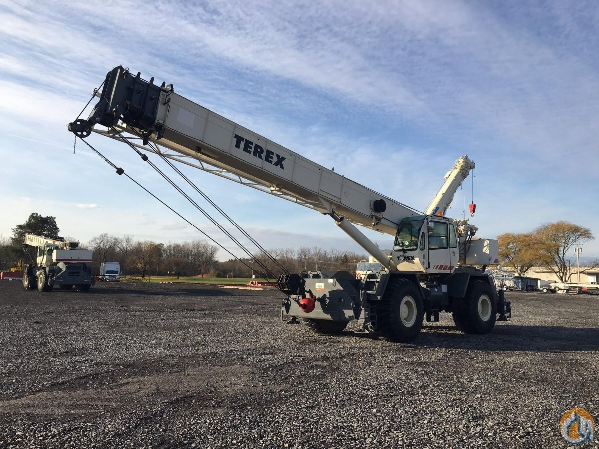 2001 TEREX RT555 Crane for Sale in North Syracuse New York on CraneNetwork.com