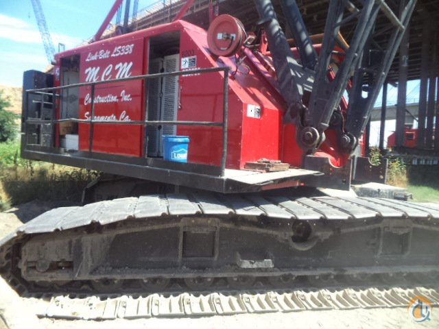 Link-belt LS 338 Crane for Sale in Sacramento California on CraneNetworkcom