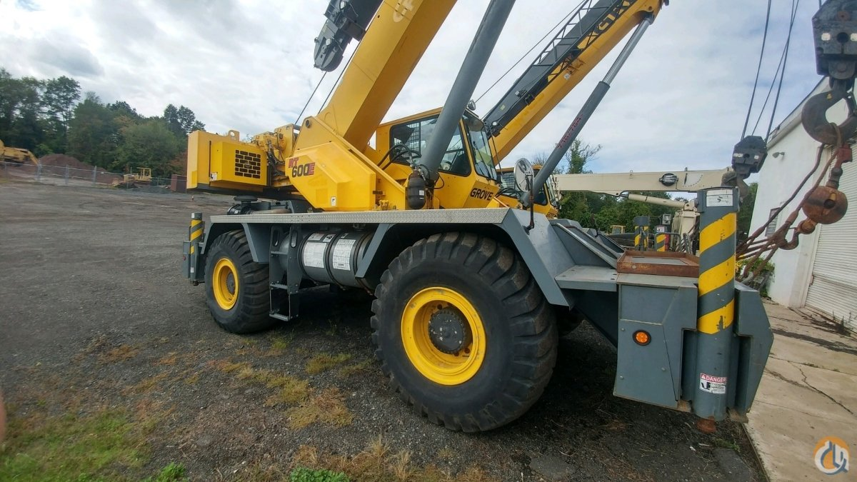 2007 Grove RT650E Crane for Sale or Rent on CraneNetwork.com