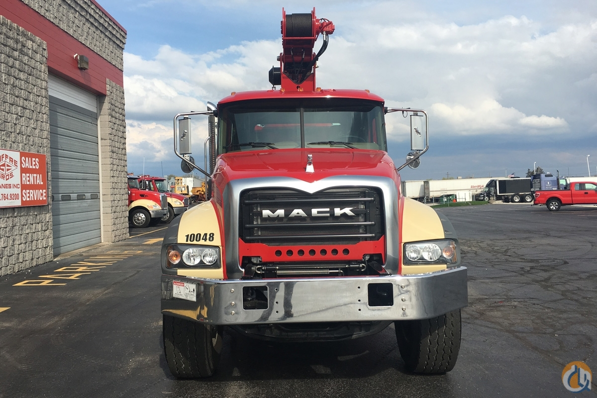 Rental Fleet 28 Ton on MACK Truck Crane for Sale in Milwaukee Wisconsin on CraneNetwork.com