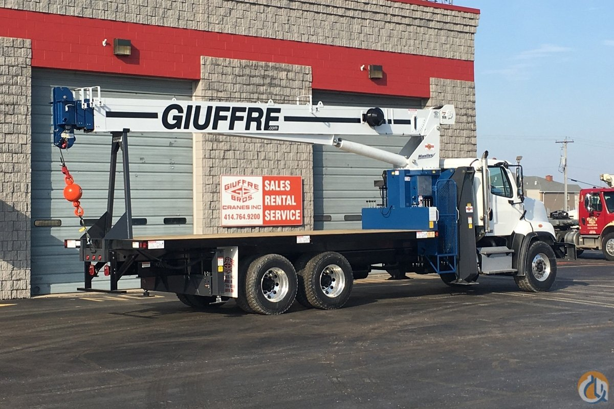 Sold New 28 TON MANITEX - FREIGHTLINER TRUCK Crane for  in Milwaukee Wisconsin on CraneNetwork.com