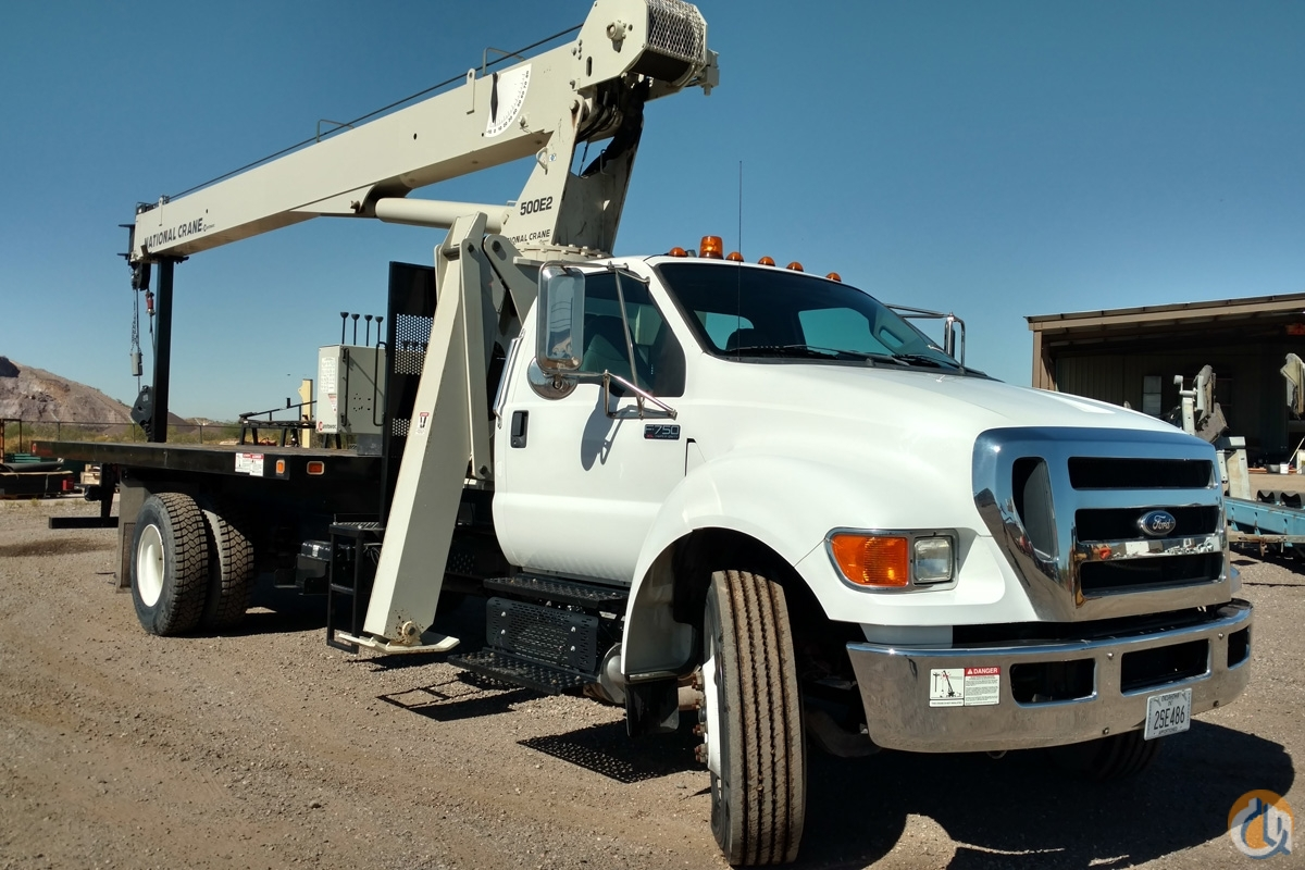 Sold Like New 18 Ton 71 boom truck Crane for  in Phoenix Arizona on CraneNetwork.com