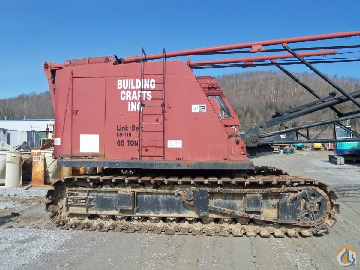 1983 LINK-BELT LS-118 FOR SALE Crane for Sale in Arcanum Ohio on CraneNetwork.com