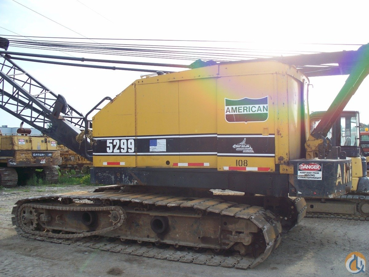 1977 American 5299 Crane for Sale in Ludington Michigan on CraneNetwork.com