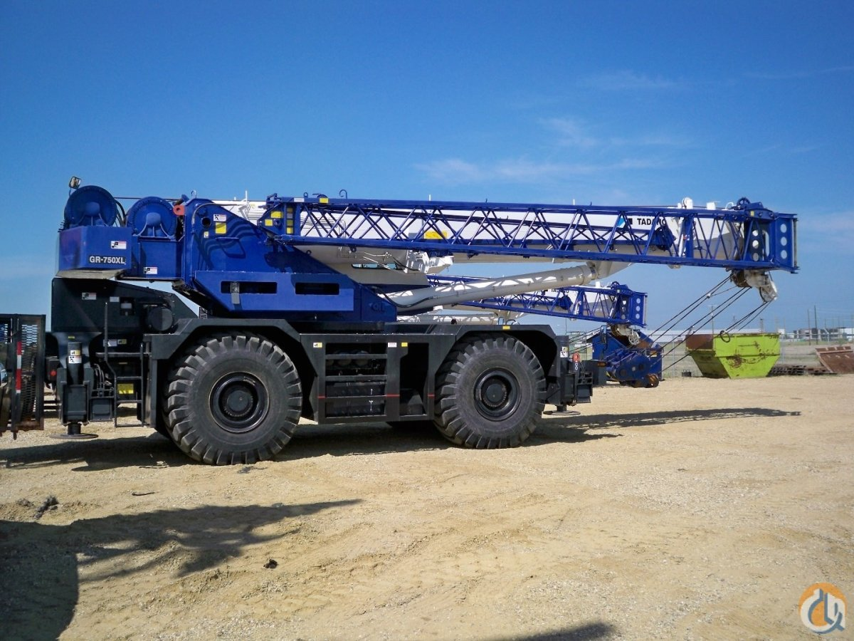 TADANO GR-750XL-2 2013 Crane for Sale on CraneNetworkcom