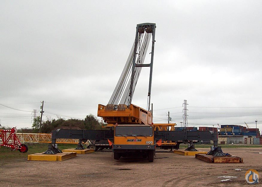 1993 Liebherr LG1550 Crane for Sale on CraneNetworkcom