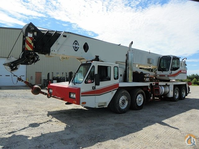 Sold 1999 Link Belt HTC8670 Crane for  on CraneNetworkcom