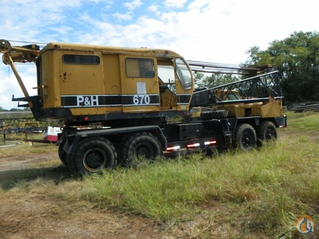 1966 P  H 670 Crane for Sale on CraneNetworkcom