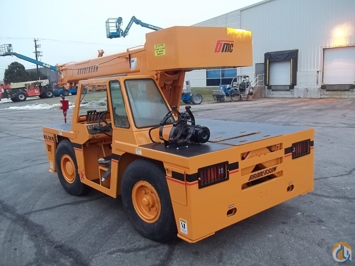 1999 Broderson IC 80-3F Crane for Sale or Rent in Cambridge Ontario on CraneNetworkcom