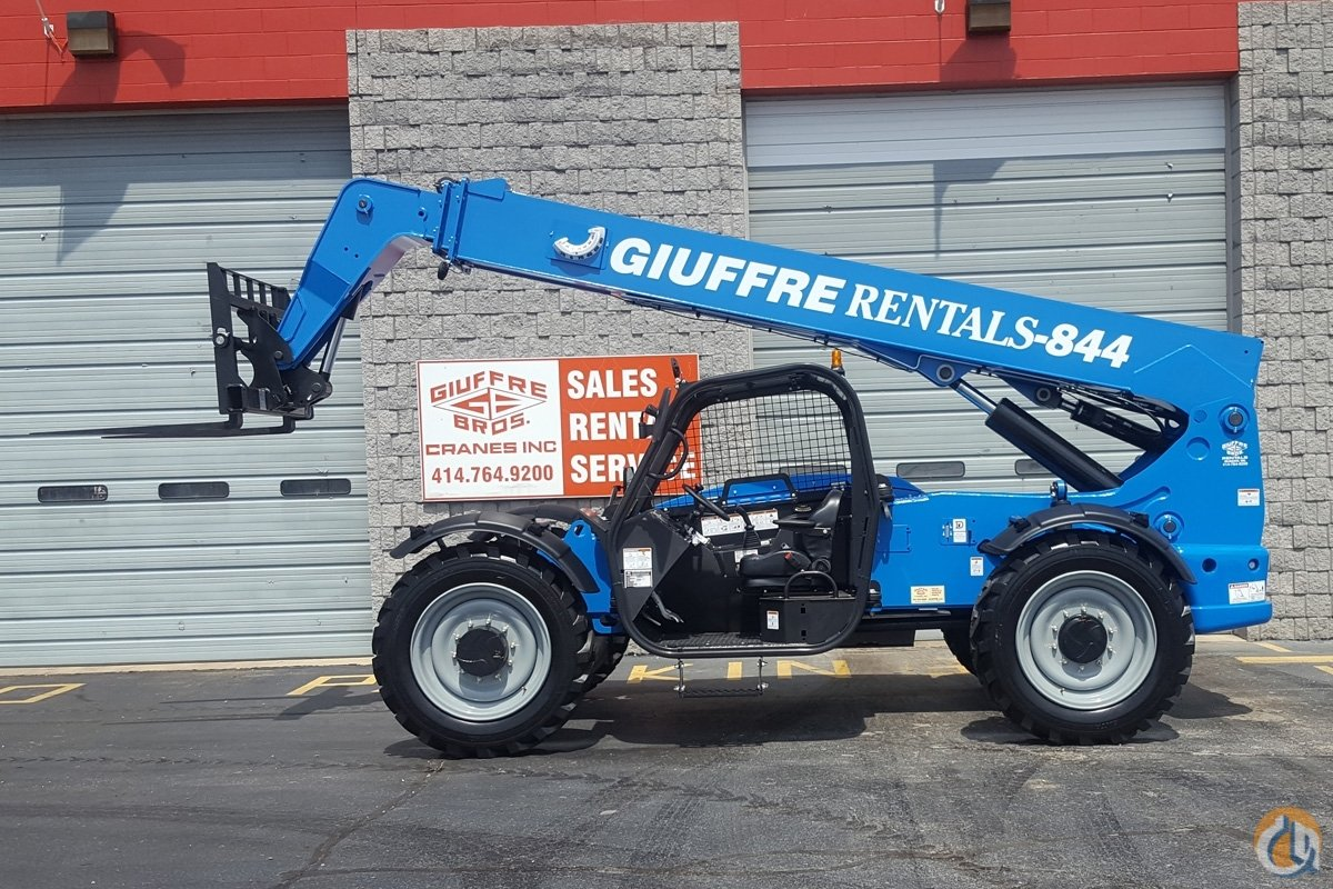 Sold Rental Fleet Genie 8k Telehandler - Sale or Rent Crane for  in Milwaukee Wisconsin on CraneNetwork.com